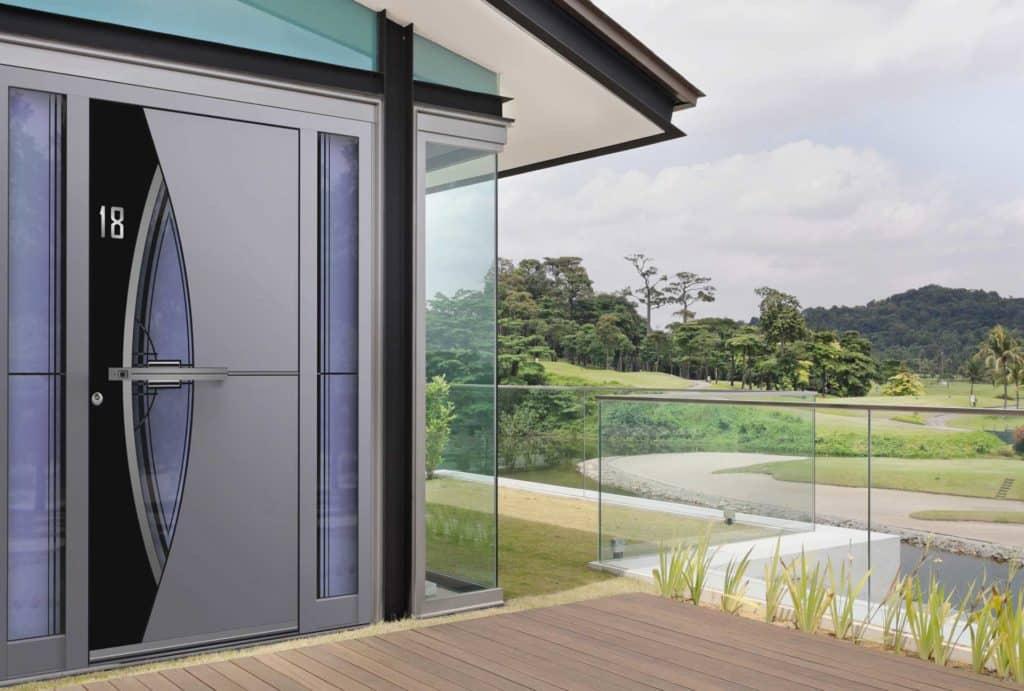 aluminium designer doors Worcester