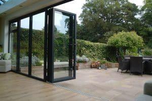 innovative aluminium bi-fold doors