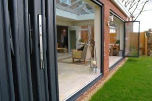 energy saving bi-fold doors