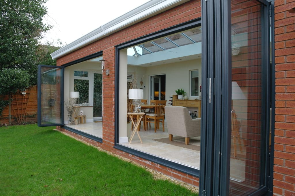 bi-fold door prices Worcester